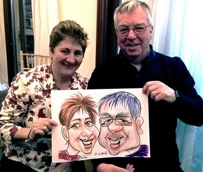 Double Colour Caricaturist